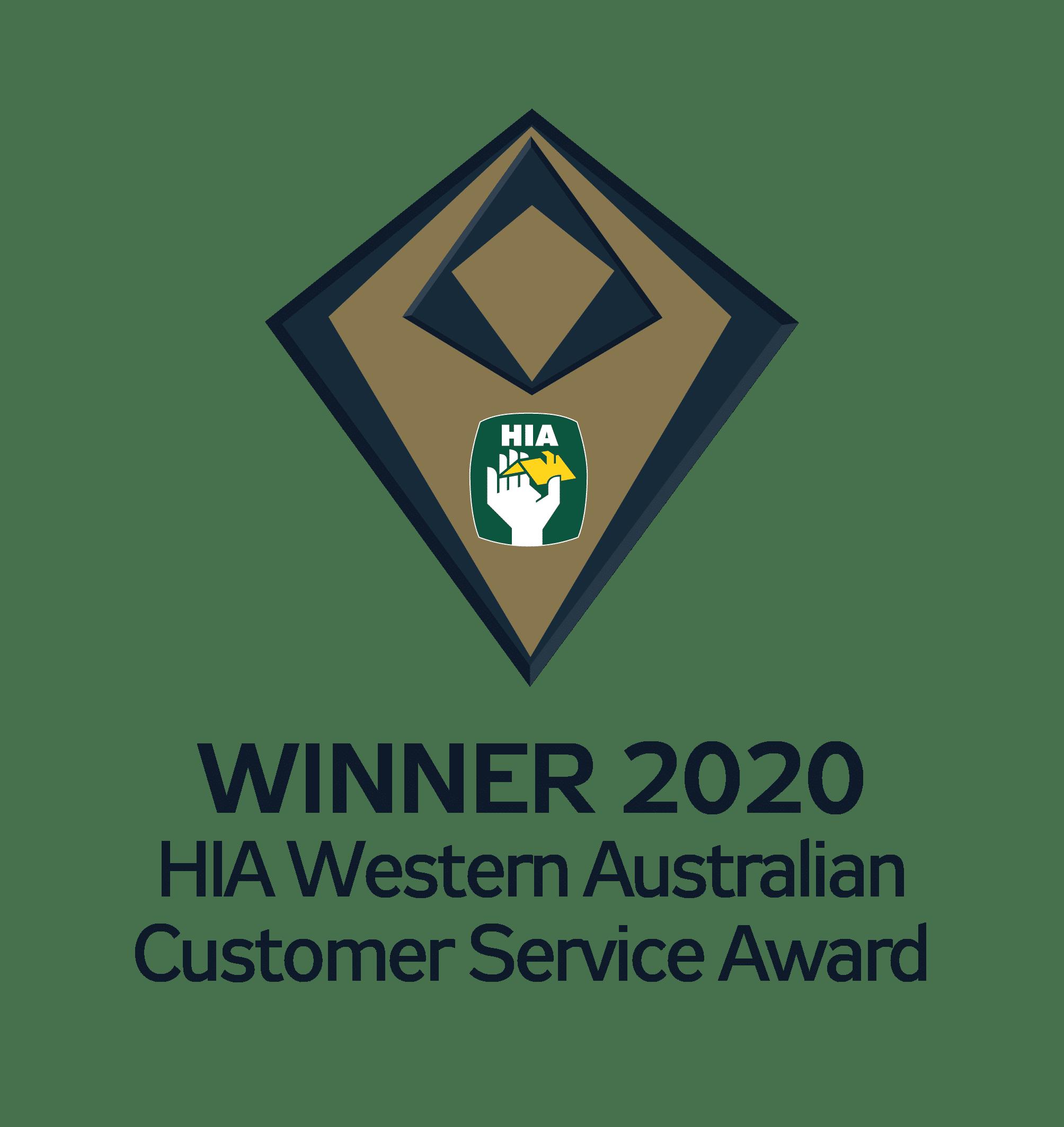 HIA Western Australian Customer Service Award
